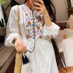 Đầm trắng