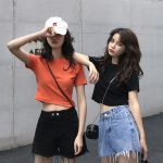 Hàn Quốc of áo thun ngắn tay