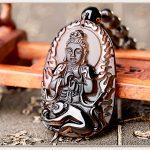 Phật Guanyin mặt dây chuyền nam